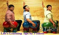 Learn Lessons by 3 Idiots PowerPoint Presentation