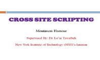 Cross Site Scripting OR XSS PowerPoint Presentation