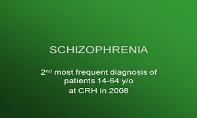 Schizophrenia PowerPoint Presentation