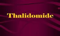Thalidomide PowerPoint Presentation
