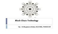 Block Chain Technology PowerPoint Presentation