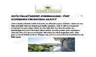 Keya Valley Resort, Kumbhalgarh – Visit & Experience the Natural Beauty PowerPoint Presentation