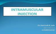 Intramuscular Injection PowerPoint Presentation