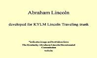 Abraham Lincoln PowerPoint Presentation