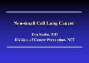 Chemoprevention of the Lung Cancer Powerpoint Presentation
