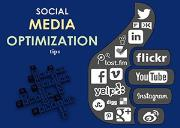 Social Media Optimization Tips Powerpoint Presentation