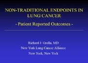 NON SMALL CELL LUNG CANCER Issues Powerpoint Presentation