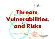 Threats Vulnerabilities and Risks Powerpoint Presentation