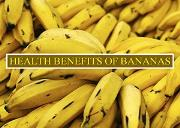 Health benefits of bananas Powerpoint Presentation