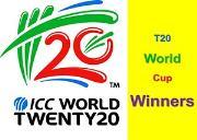 T Twenty World Cup Winners Powerpoint Presentation