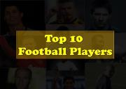 Top 10 Football Players Powerpoint Presentation