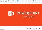 PowerPoint Amazing Stats Powerpoint Presentation