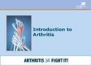 Introduction of Arthritis Powerpoint Presentation