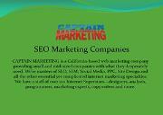 SEO Marketing Companies Powerpoint Presentation