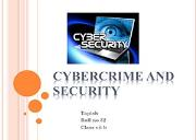 cyber crime Powerpoint Presentation