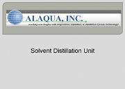 Solvent Distillation Unit Powerpoint Presentation