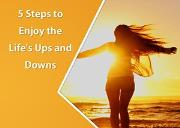 5 Steps For Enjoying Life Powerpoint Presentation