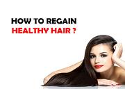 How to regain healthy hair Powerpoint Presentation