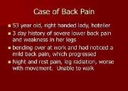 Download Back pain Powerpoint Presentation