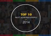 TOP 10 MOST SEARCHED PEOPLE IN 2014 Powerpoint Presentation