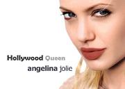 Hollywood Queen Angelina Jolie Powerpoint Presentation
