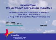 Opening Our Eyes to Depression Dementia Powerpoint Presentation