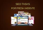 SEO Steps For Fresh Website Powerpoint Presentation
