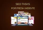 SEO Steps For Fresh Website Powerpoint Presentation