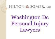Washington Dc Personal Injury Lawyers Powerpoint Presentation