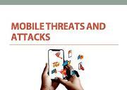 Mobile Threats Attacks Powerpoint Presentation