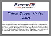 Vehicle Shippers United States Powerpoint Presentation