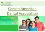 Carson American Dental Association Powerpoint Presentation