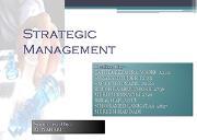 Strategic Management Powerpoint Presentation