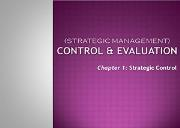 Control and Evaluation Powerpoint Presentation