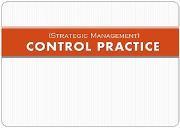 Control Practice Powerpoint Presentation