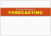 FORECASTING Powerpoint Presentation