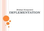Implementation Powerpoint Presentation