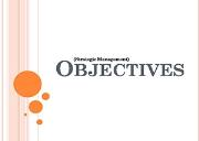 Strategy formulation Objectives Powerpoint Presentation