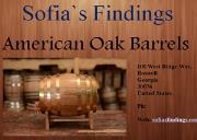 American Oak Barrel Powerpoint Presentation