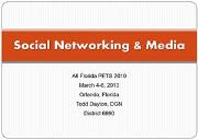 Social Networking All Florida PETS Powerpoint Presentation