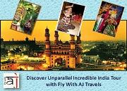 Discover Unparallel Incredible India Tour with Fly With AJ Travels Powerpoint Presentation