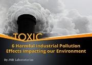 6 Harmful Industrial Pollution Effects Impacting our Environment Powerpoint Presentation