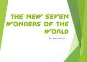 Seven Wonders Of The World Powerpoint Presentation
