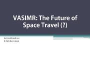 The Future of Space Travel Powerpoint Presentation