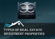 Types of Real Estate Investment Properties Powerpoint Presentation