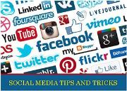Social Media Tips and  Tricks Powerpoint Presentation