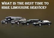 What is the Best Time to Hire Limousine Service Powerpoint Presentation