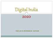 Digital India 2020 Powerpoint Presentation