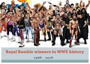 Roya Rumble Winners In Wwe History Powerpoint Presentation