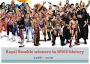 Roya Rumble Winners In Wwe History Powerpoint Presentation